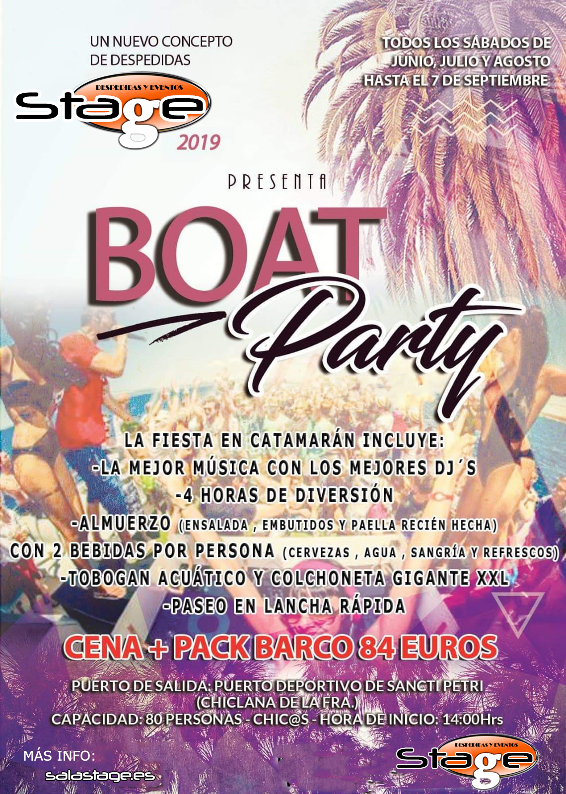 Sala Stage: Boat Party 2019